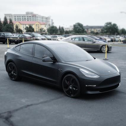 model 3 prototype matte black fremont