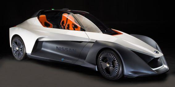 Nissan BladeGlider traz tecnologias de ponta da mobilidade inteligente para a vida real