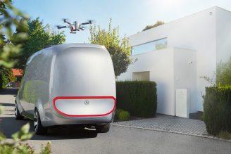 Mercedes-Benz Vision Van - Exterior ; Mercedes-Benz Vision Van - Exterior;