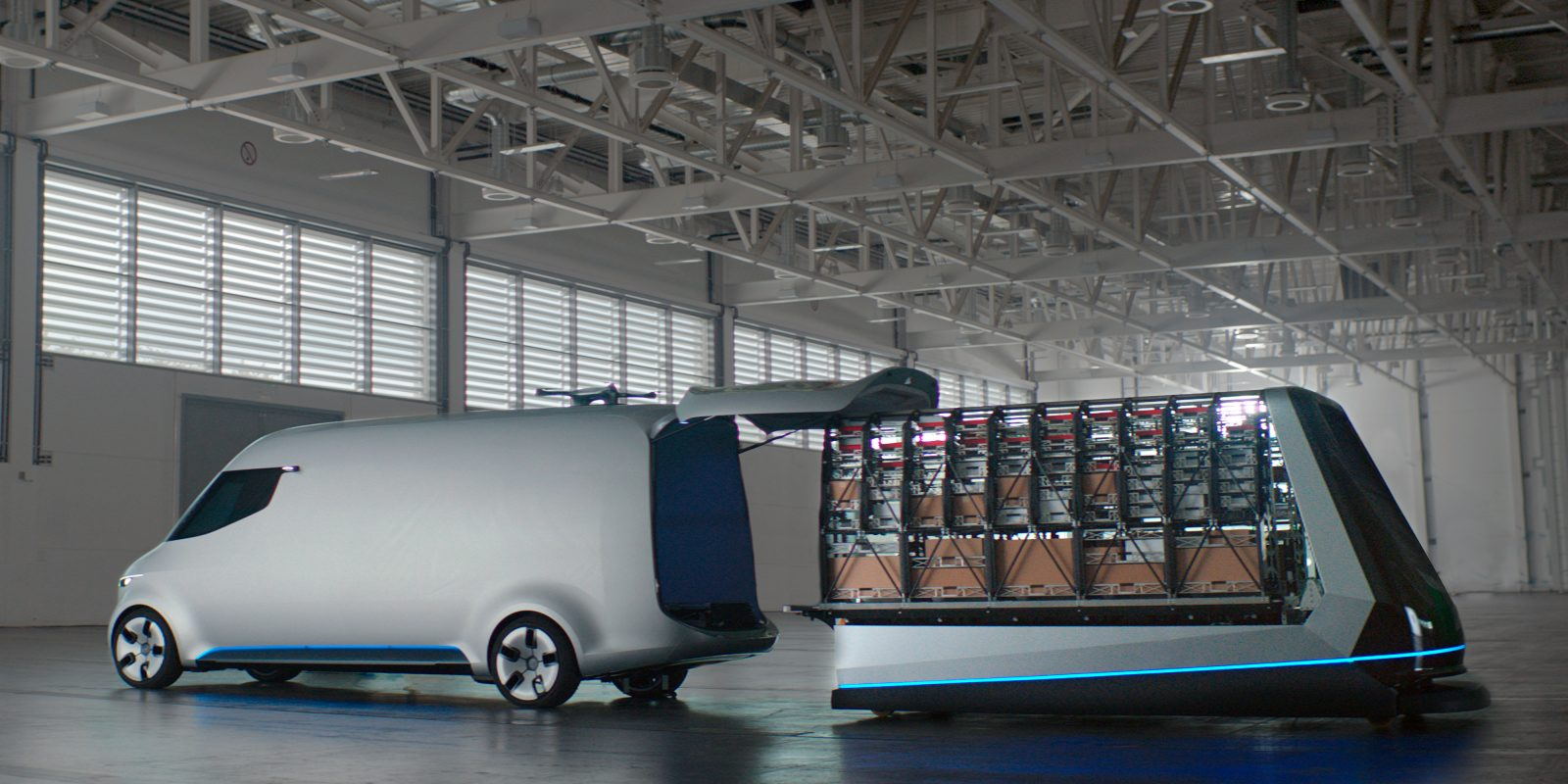 Mercedes unveils new all-electric van concept aimed at delivery ...