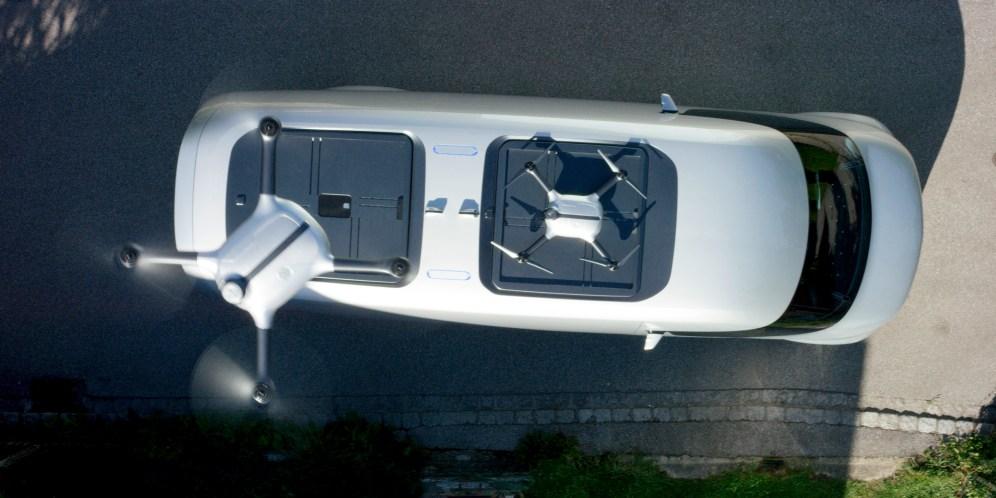 Mercedes-Benz Vision Van – Exterior, Roof ; Mercedes-Benz Vision Van – Exterior, Roof;
