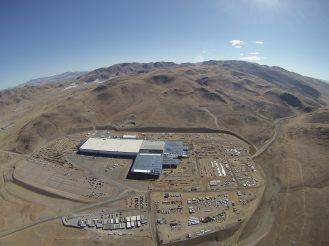 Gigafactory coming from the west