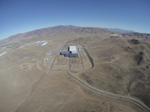 Gigafactory coming from the south