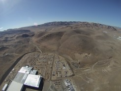 Gigafactory coming from the north