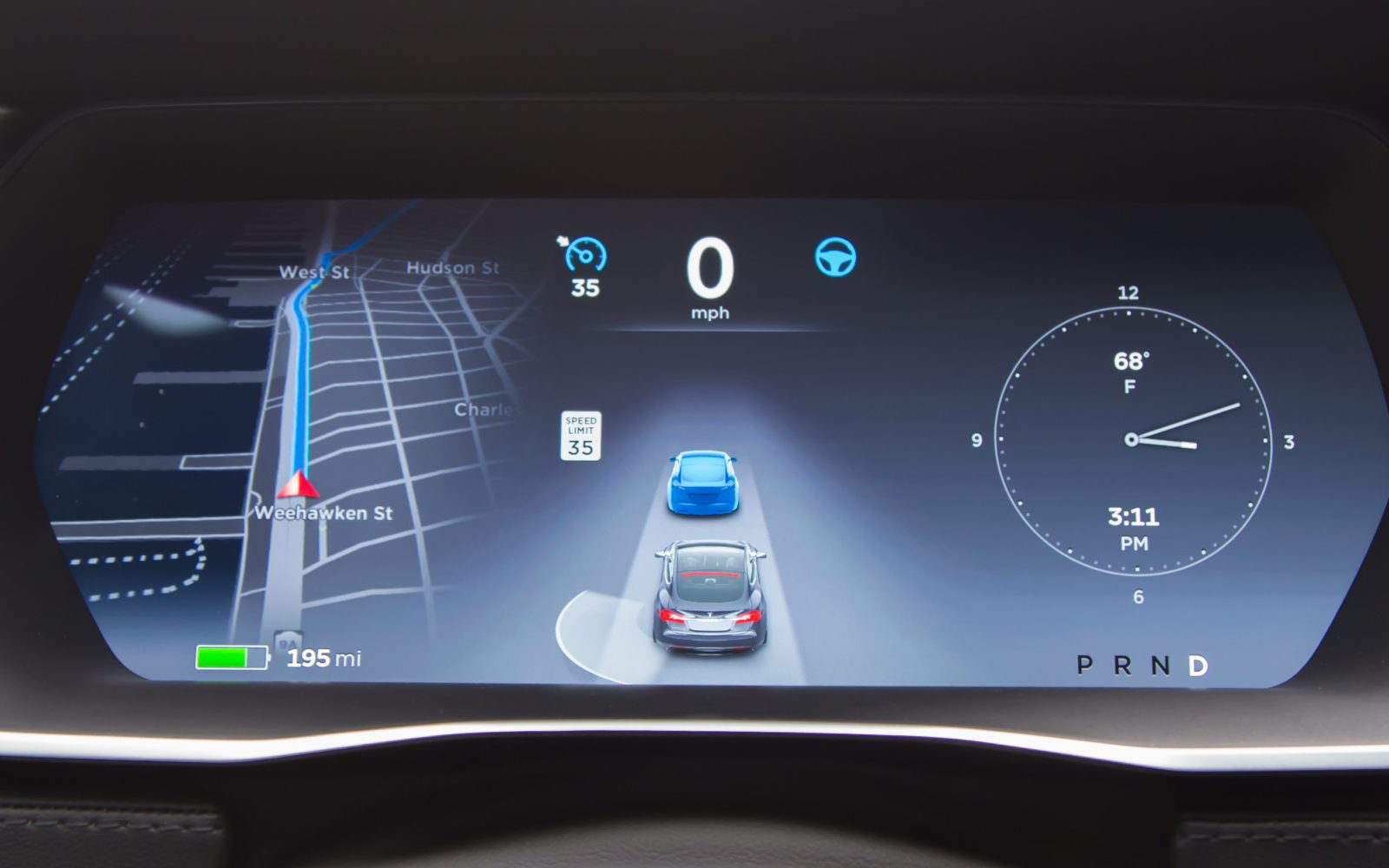 Elon Musk explains Tesla Autopilot's new capacity to see ahead of the car in front of you