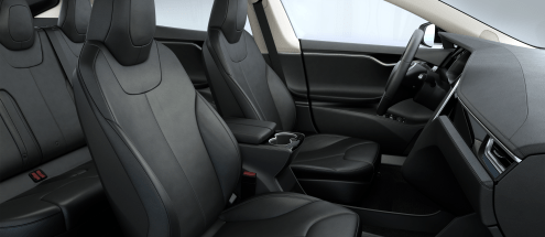 tesla-original-leather-seat