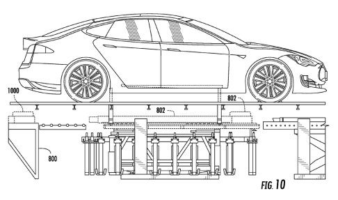 Tesla's battery swapping magic revealed in new patent
