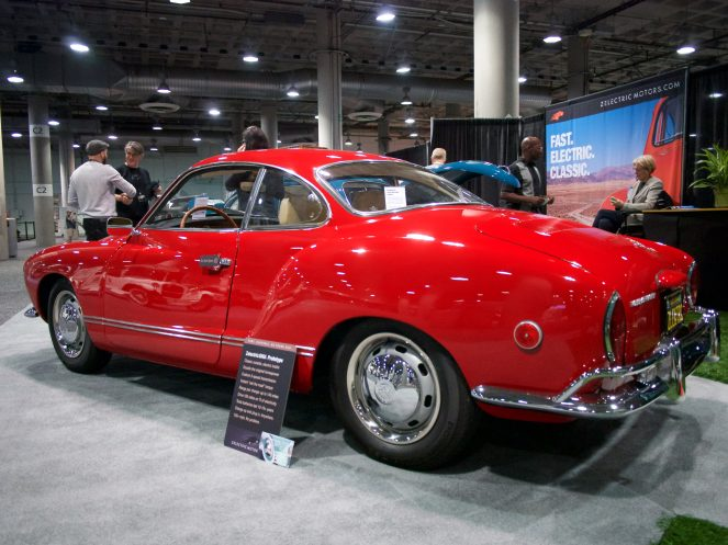 Zelectric VW Karmann Ghia EV conversion