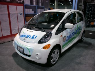 "Mitsubishi i-MiEV - ""Charge Up LA!"" program"