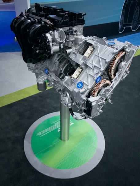 Ford plug-in hybrid drive system