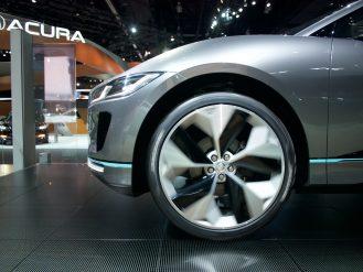 Jaguar I-PACE Front side