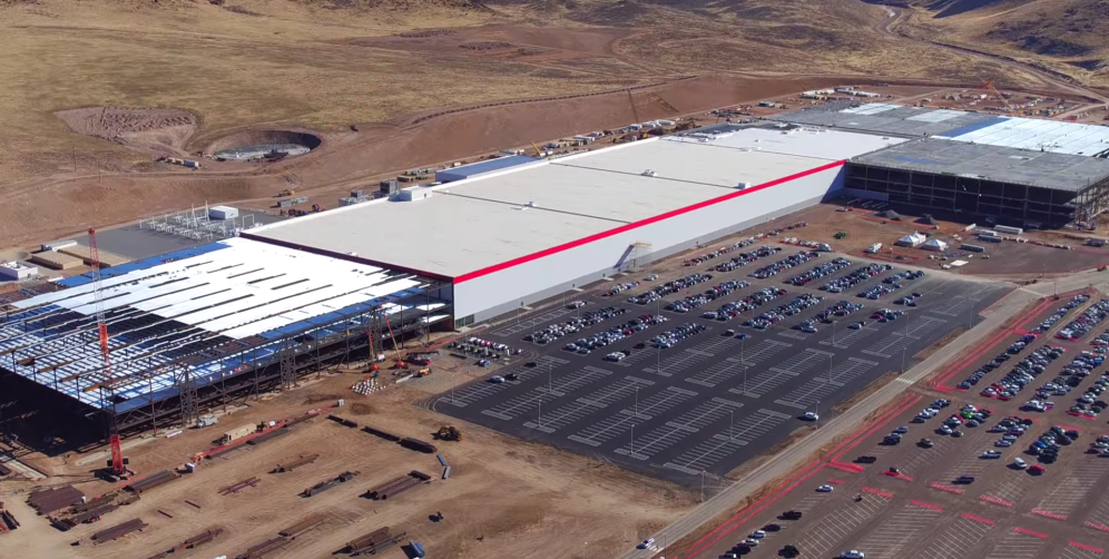 Tesla gigafactory electric vehicle