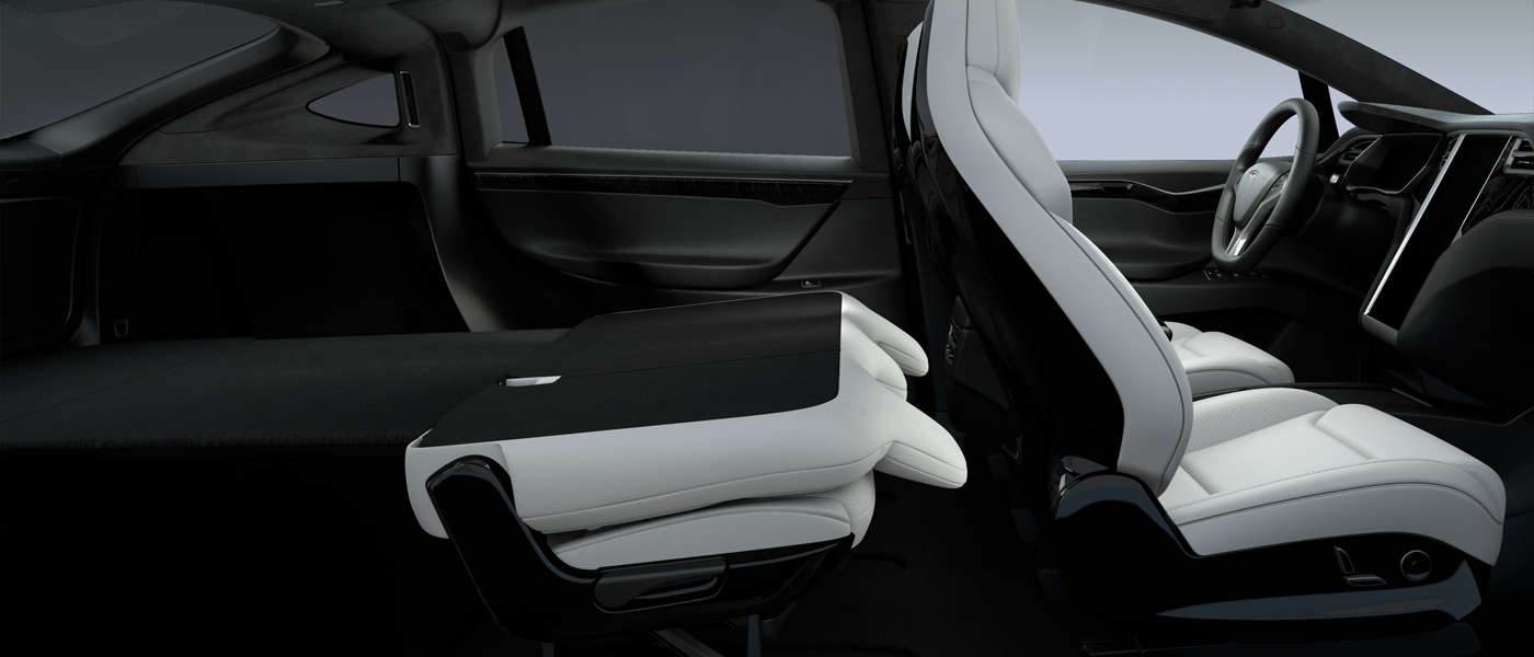 Tesla introduces new fold-flat seats config in Model X, making it ...