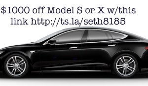 Tesla Model S or X free Supercharging!