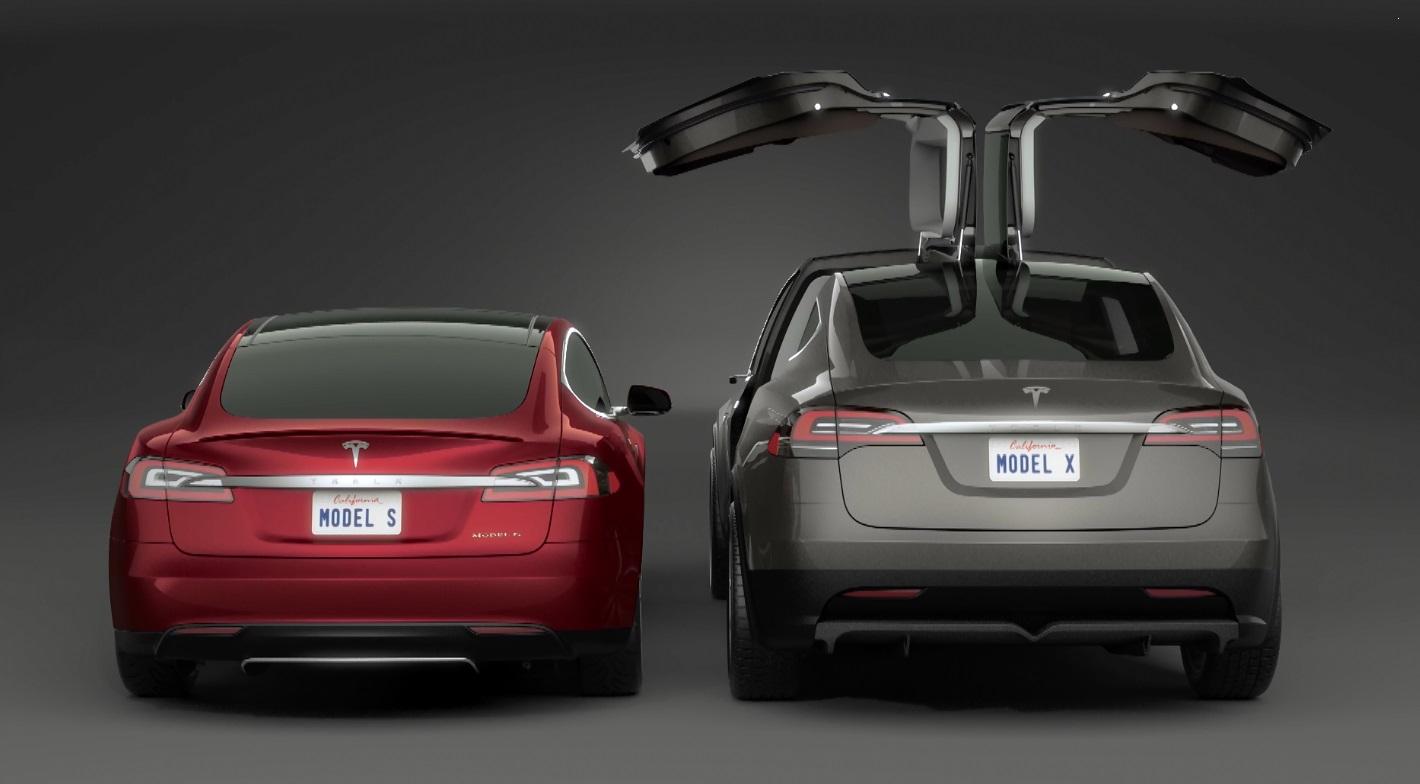 Tesla model x vs model s