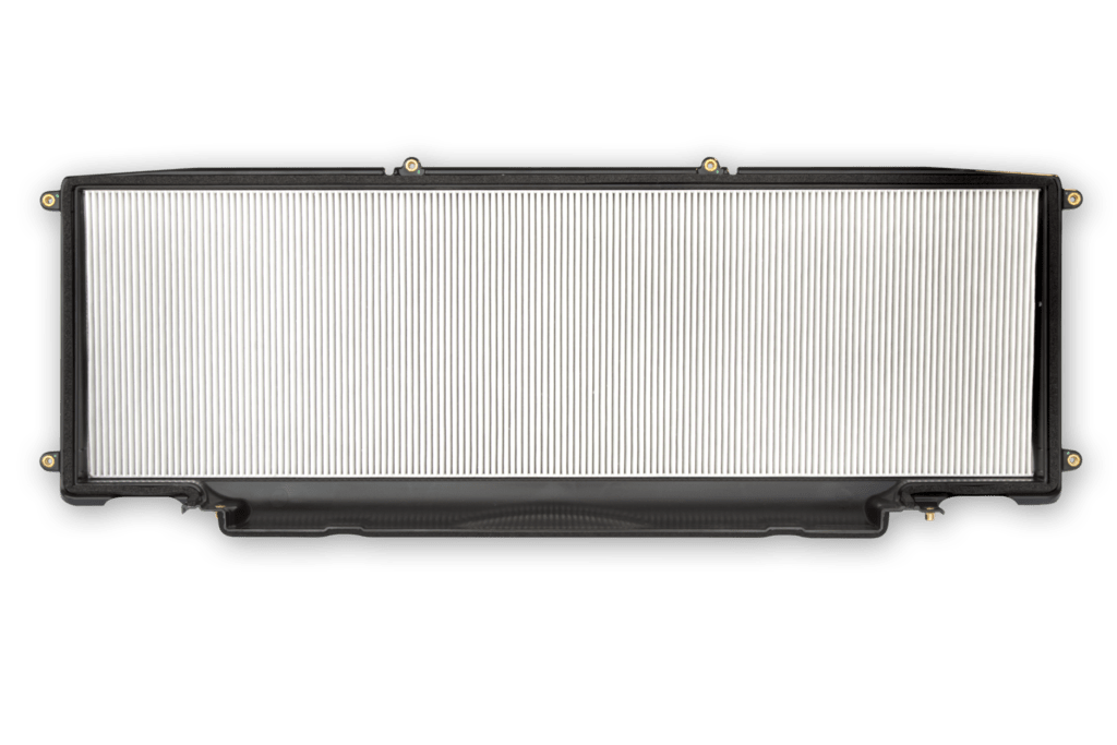 Tesla launches its hepa air filter with 39 bioweapon defense for Tesla model x cabin air filter