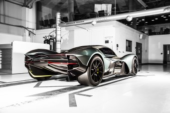 Aston Martin S Upcoming New Hypercar Will Have A Battery Pack