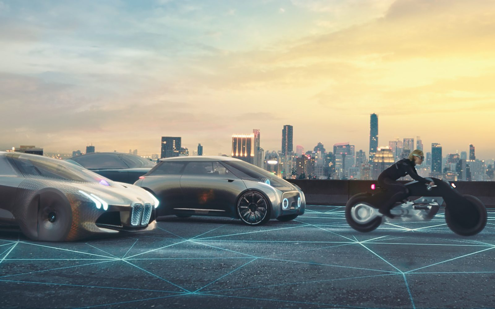 bmw uses fear of tesla and other evs to rally employees into electric revolution