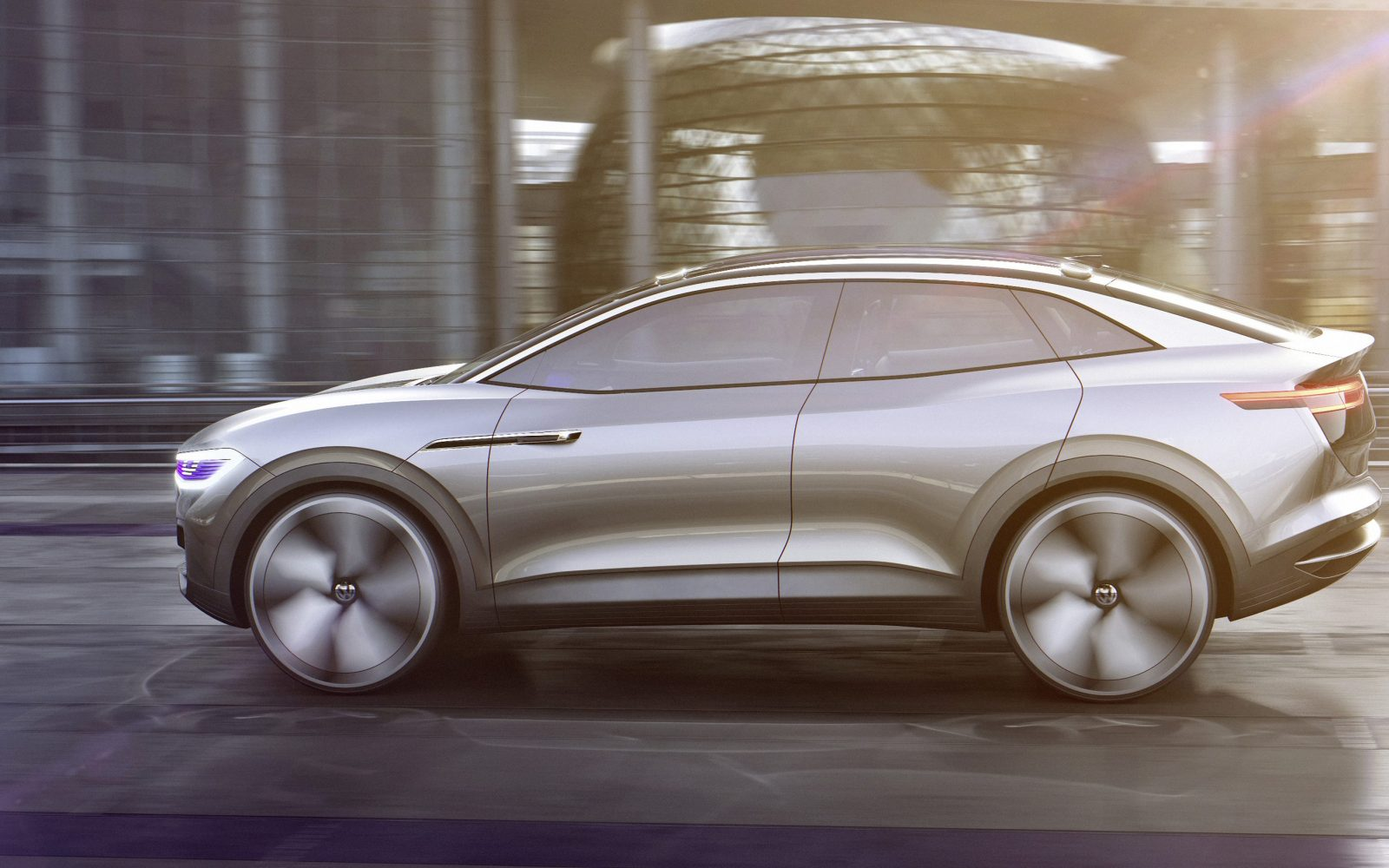 VW ID Crozz Electric Crossover SUV: Design, Release >> Vw Unveils New Crossover All Electric Id Concept 300 Miles Of