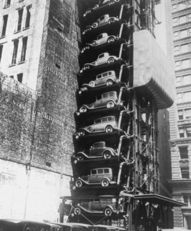 Old Stacked Car Parking_2