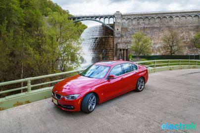 100 croton dam river bridge Electrek BMW 330e Hybrid 3 series sports sedan review