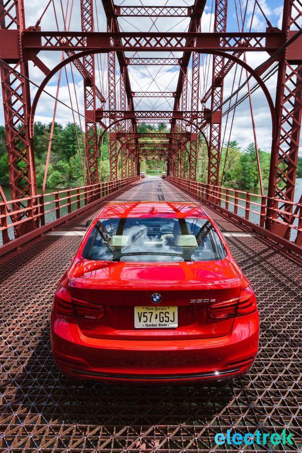 110 Croton Reservoir Pump house Electrek BMW 330e Hybrid 3 series sports sedan review