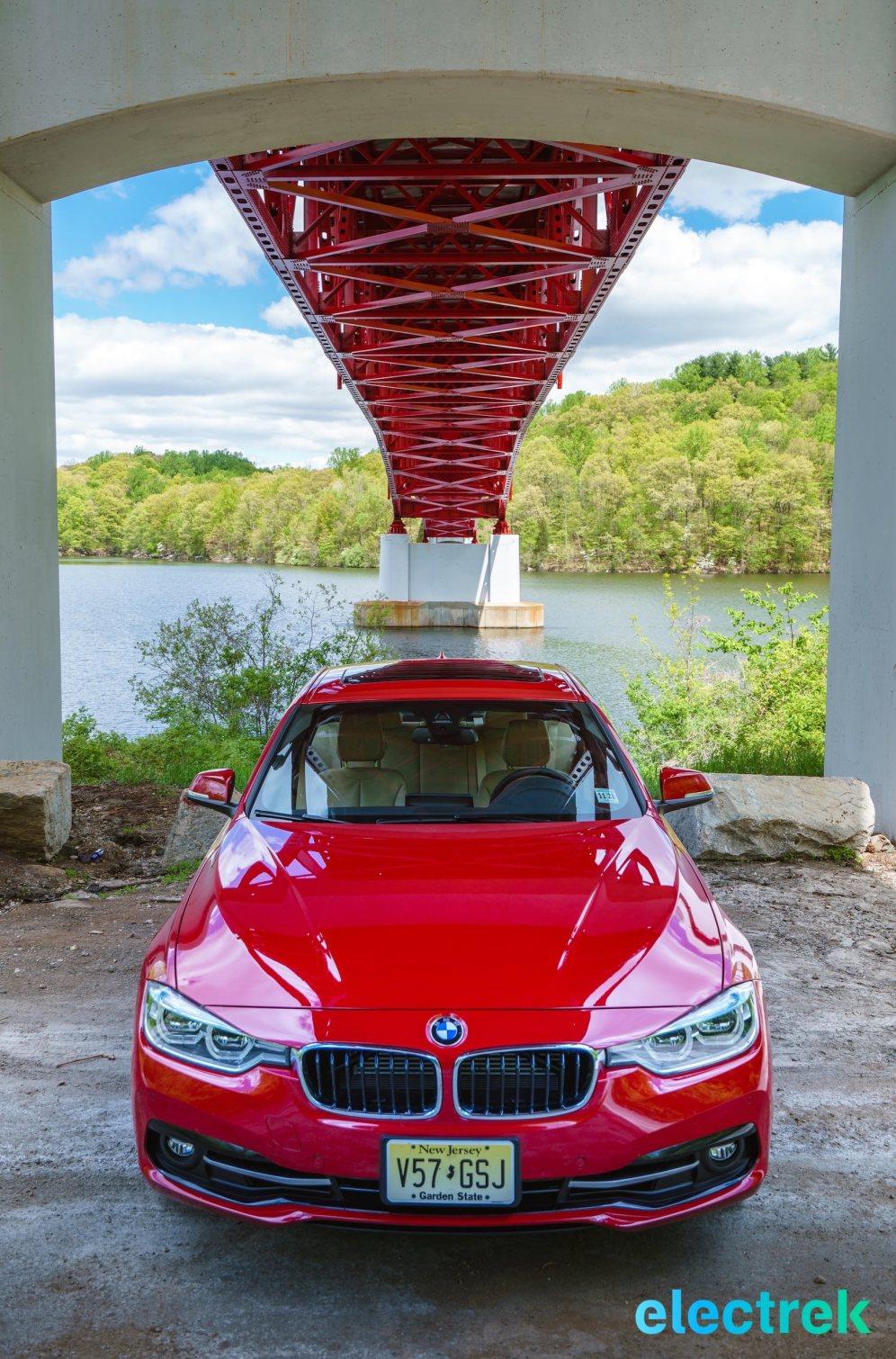 140 Croton Reservoir Pump house Electrek BMW 330e Hybrid 3 series sports sedan review