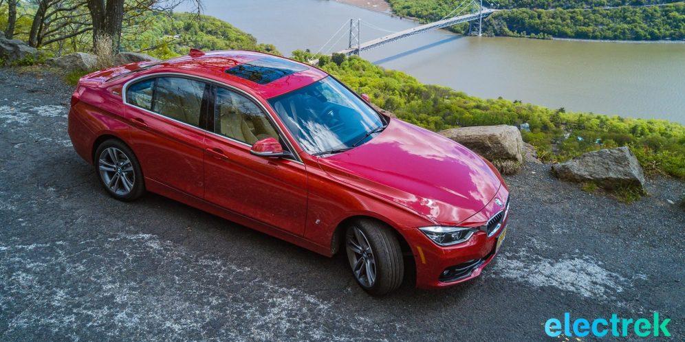 50 Bear Mountain Bridge BMW 330e Hybrid 3 series sports sedan review