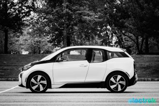 BMW i3 Electric Vehicle Urban Car Green Electrek-102