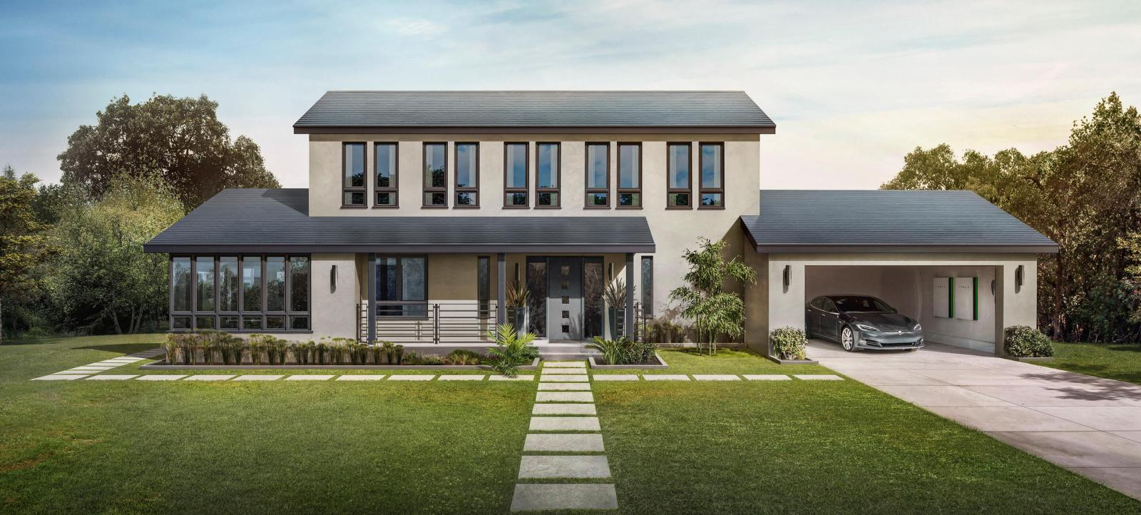 Tesla's solar roof tiles get approved for permitting and installations
