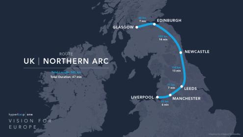 Hyperloop UK-NorthernArc