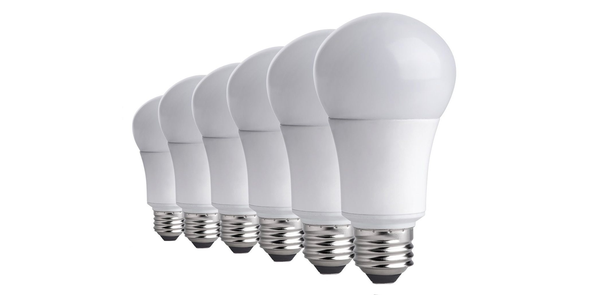 Green Deals 6-pack TCP 9W A19 LED Light Bulbs $10 Prime shipped more  sc 1 st  Electrek & Green Deals: 6-pack TCP 9W A19 LED Light Bulbs $10 Prime shipped ...