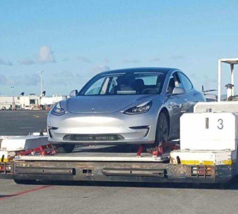 Tesla Model 3 aukcland 3