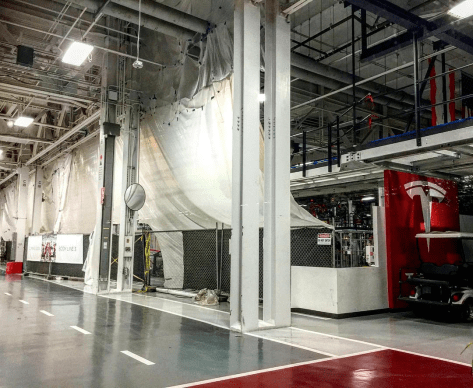 Tesla Model 3 production line 2