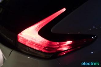 110 lights on tail rear brake dark night design shape New Nissan Leaf 2018 National Drive Electric Week Bridgewater NJ-67