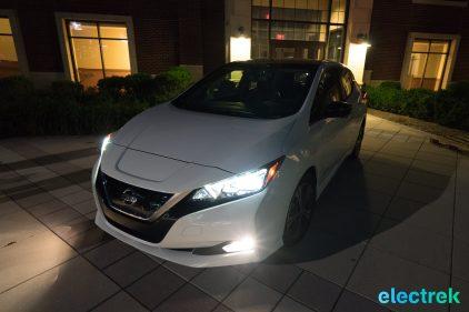 115 dark night front New Nissan Leaf 2018 National Drive Electric Week Bridgewater NJ-72