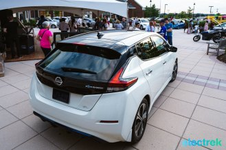 50 New Nissan Leaf 2018 trunk logo lights National Drive Electric Week Bridgewater NJ-6