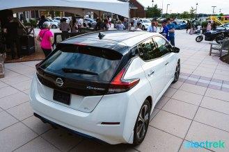 50 New Nissan Leaf 2018 trunk logo lights National Drive Electric Week Bridgewater NJ-6