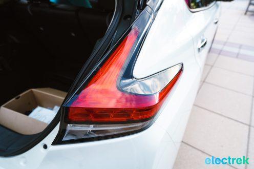 53 New Nissan Leaf 2018 tail lights brakelight design National Drive Electric Week Bridgewater NJ-4