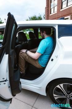 57 New Nissan Leaf 2018 rear passenger legroom National Drive Electric Week Bridgewater NJ-10