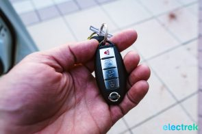 66 New Nissan Leaf 2018 keyfob remote lock alarms National Drive Electric Week Bridgewater NJ-19
