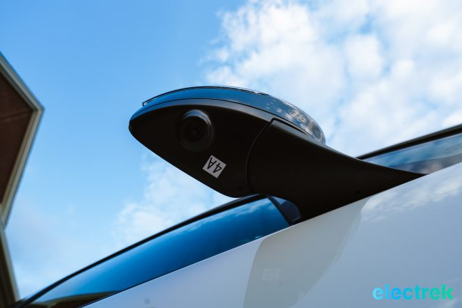 86 New Nissan Leaf 2018 sideview mirror camera National Drive Electric Week Bridgewater NJ-43