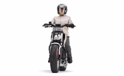 Honda introduces Riding Assist-e self-balancing electric motorcycle 2