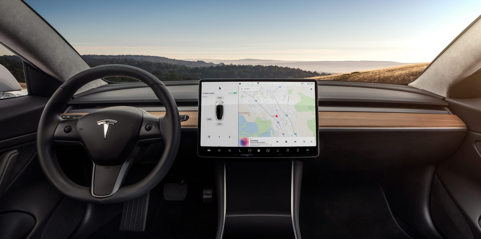 tesla asks trump administration for a tariff exemption on critical computer in model 3 [ 1600 x 797 Pixel ]