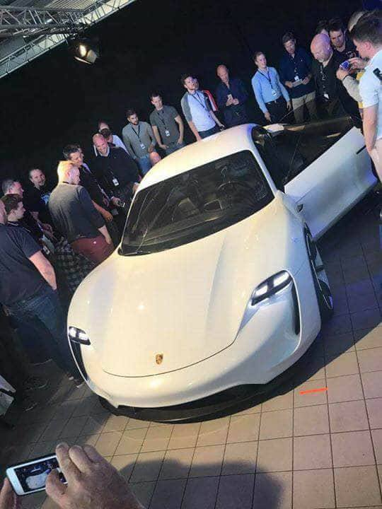 Porsche Mission E 12