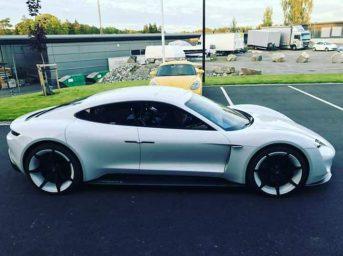 Porsche Mission E 14