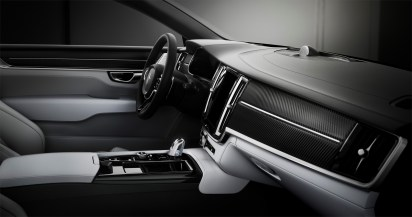 Polestar 1 interior, dashboard side