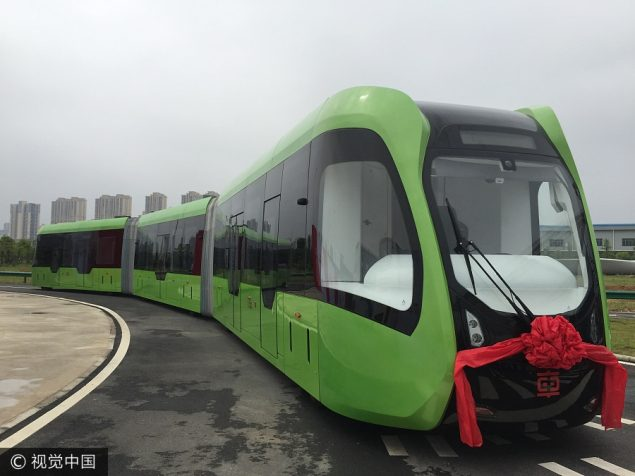 china trackless train 1