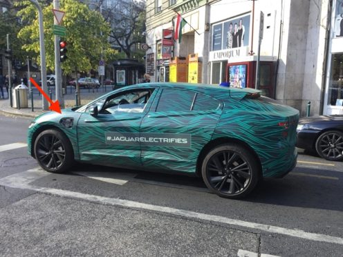 jaguar i-pace testing 2