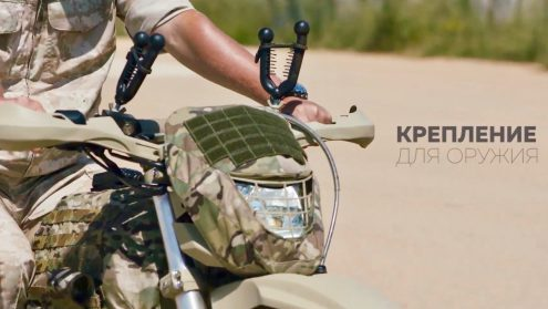 Kalashnikov reveals electric motorcycles for Russian military and police forces